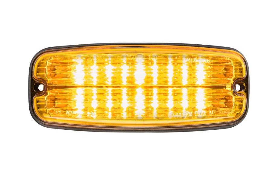 Whelen M7 amber front