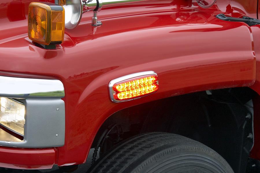 Whelen M7 toepassing truck