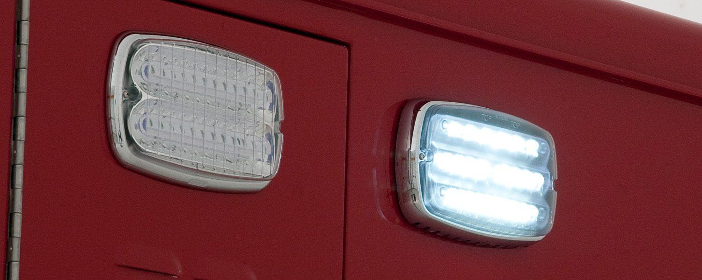 Whelen M9 ambulance