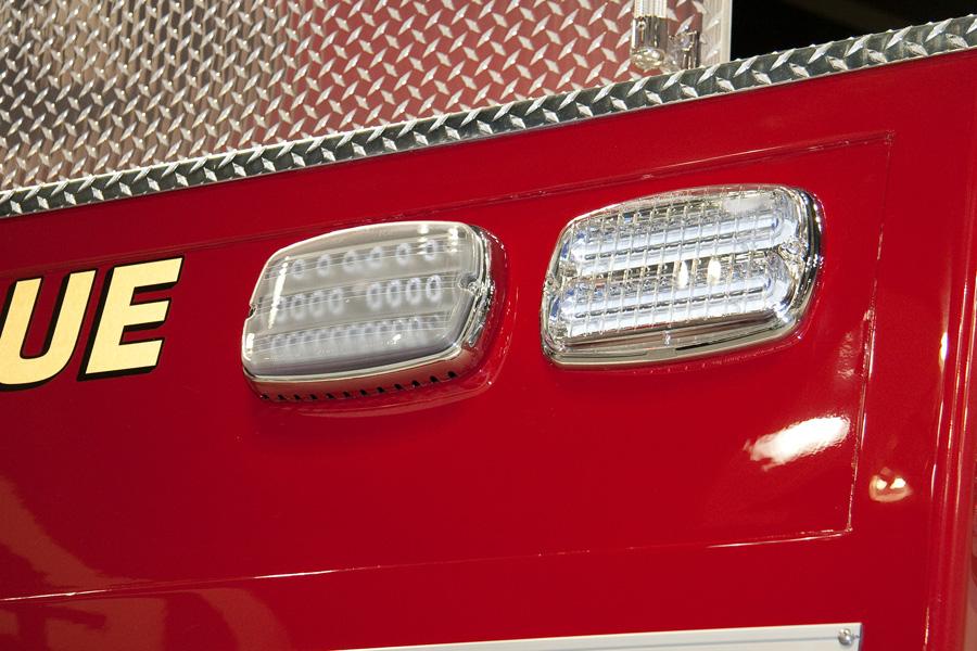 Whelen M9 clear firetruck