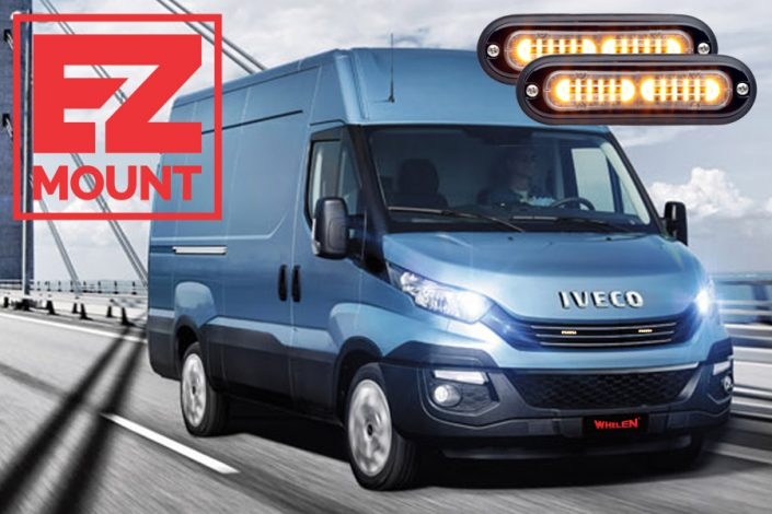 Whelen T-ION EZ-Mount Iveco Daily