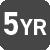 Vijf jaar garantie