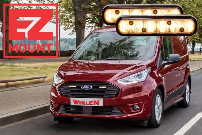 Whelen ION EZ-Mount Ford Transit Connect