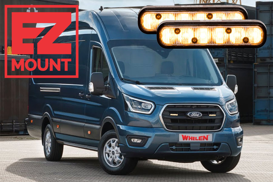 Whelen ION EZ-Mount Ford Transit