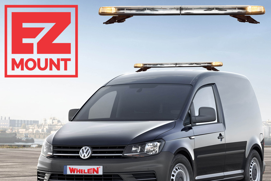 Whelen Justice EZ-Mount Volkswagen Caddy